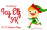 Elf clipart running. Icy k and kids