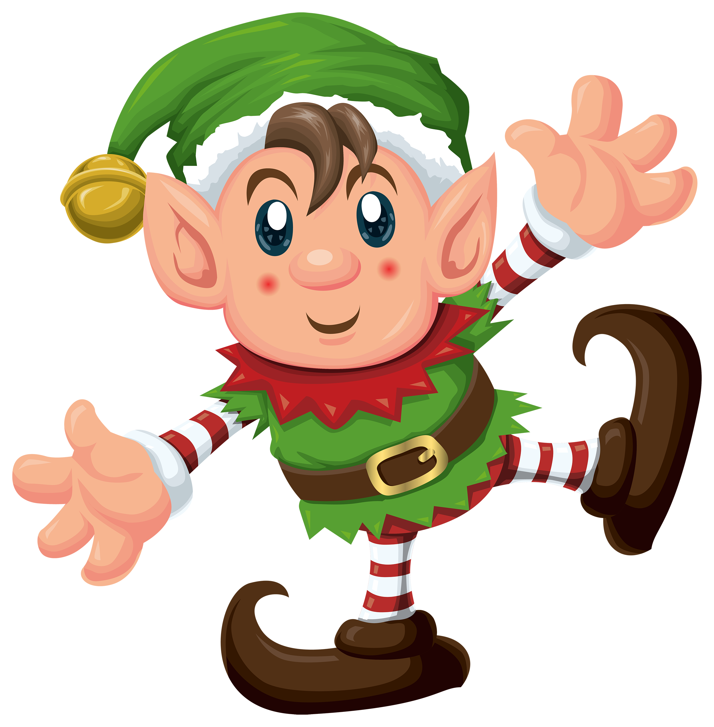 Elf clipart printable. Crossword for to