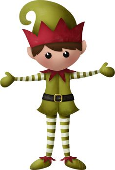 Elf clipart thing. Duende ni a pano
