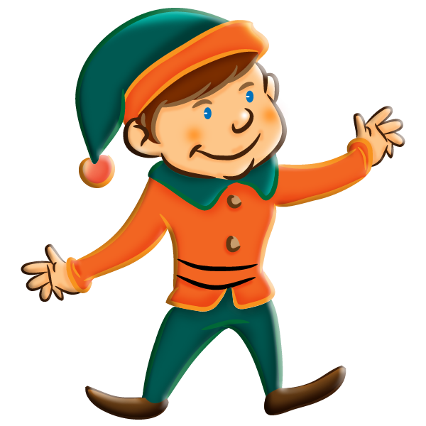 Elf clipart thing. Christmas girl archives hd