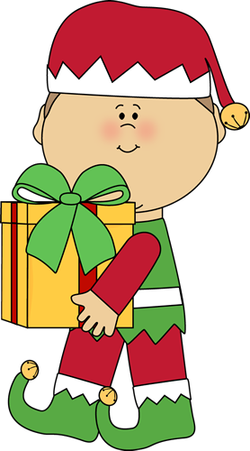 Elf clipart african american. Christmas