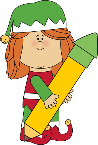 Elf clipart writing. Free christmas elves download