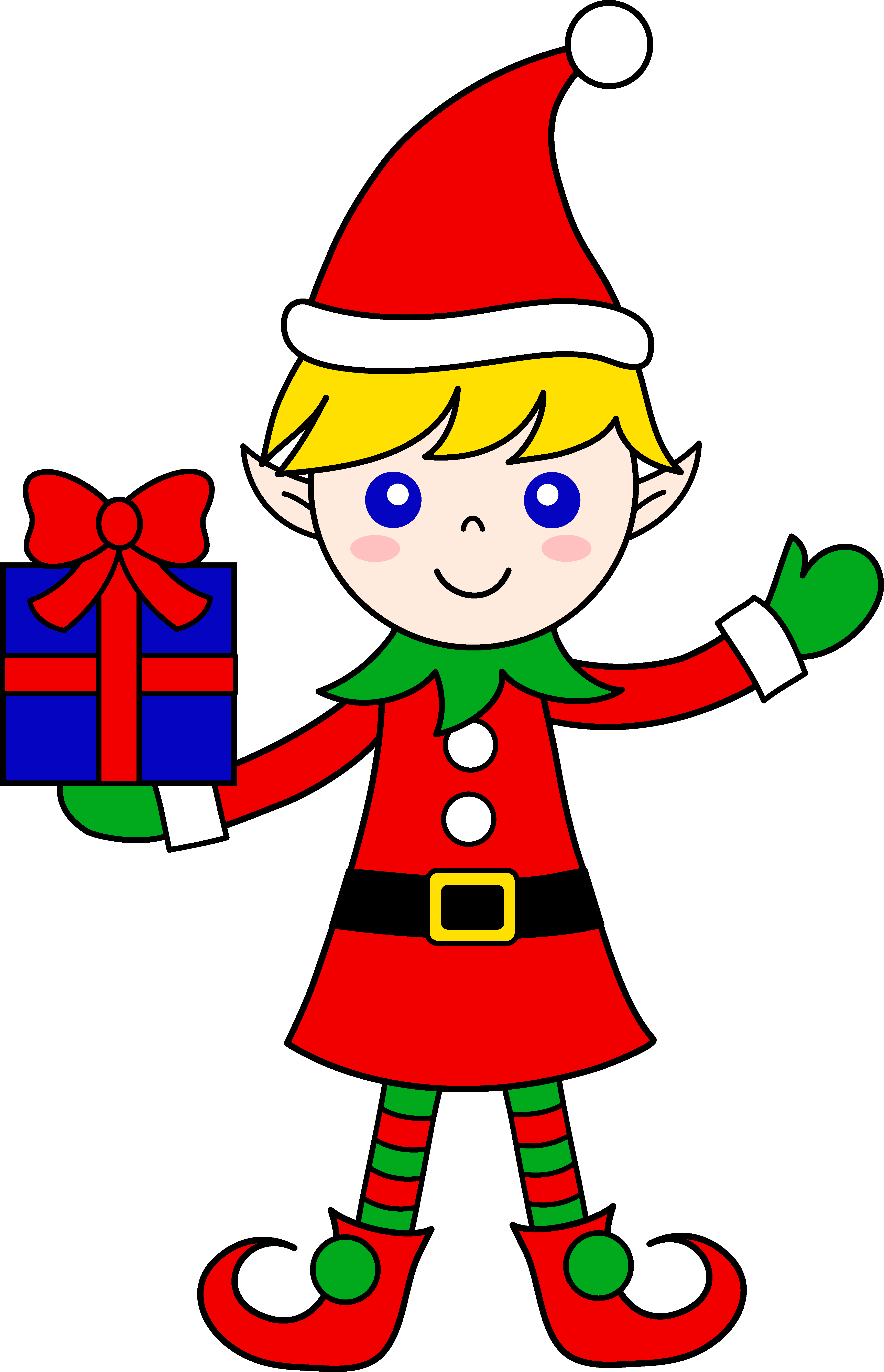 elf clipart printable