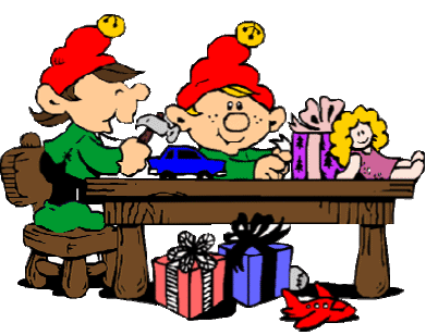Elf clipart workshop. Information home tour christmas
