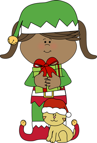 elf clipart female