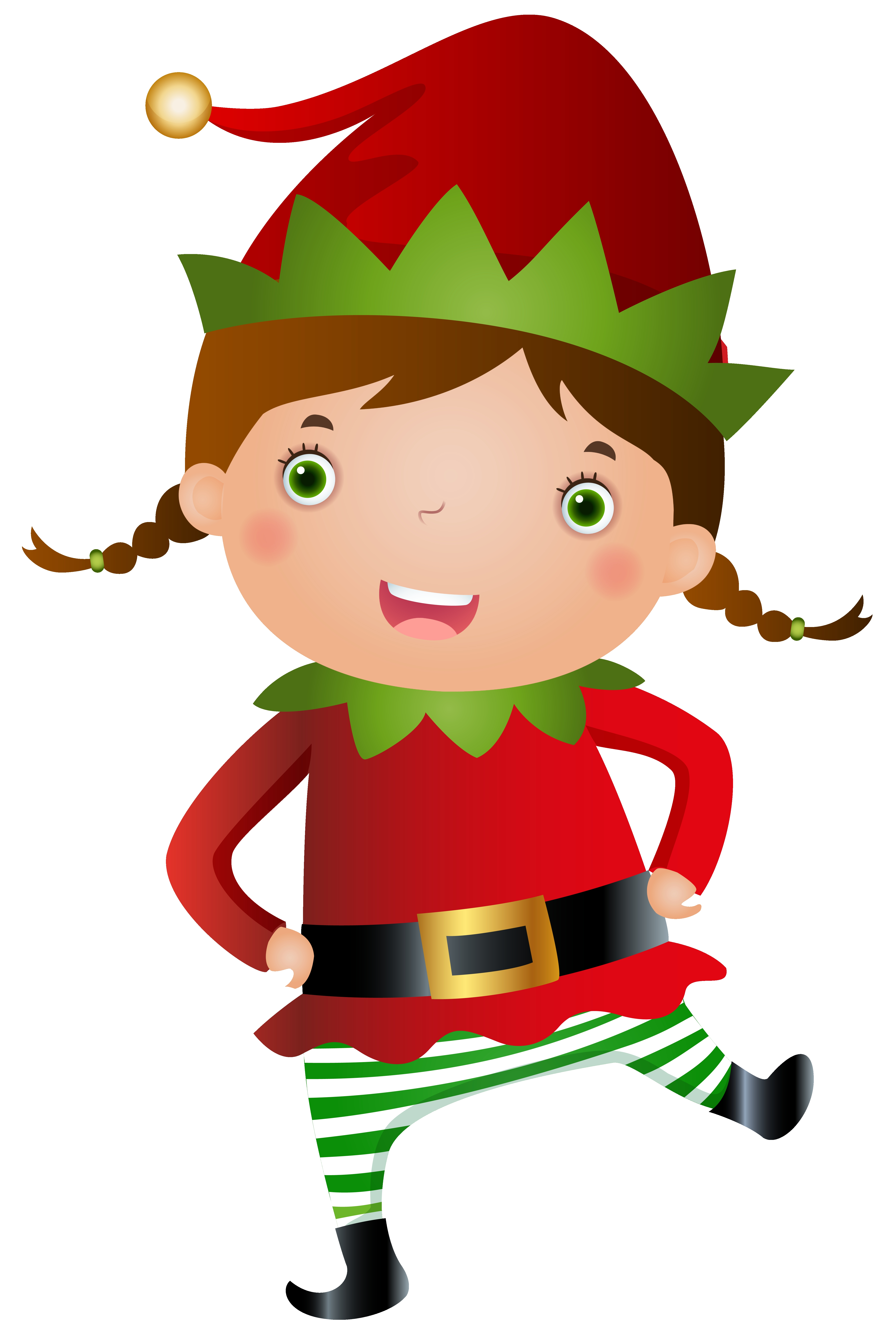Elf clipart. Awesome elves design digital