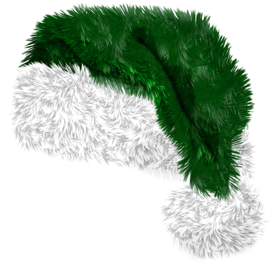 Green santa hat png. Christmas elf clipart picture