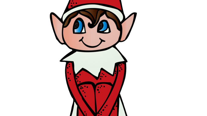 Elf on the shelf png. Scavenger hunt rio blanco