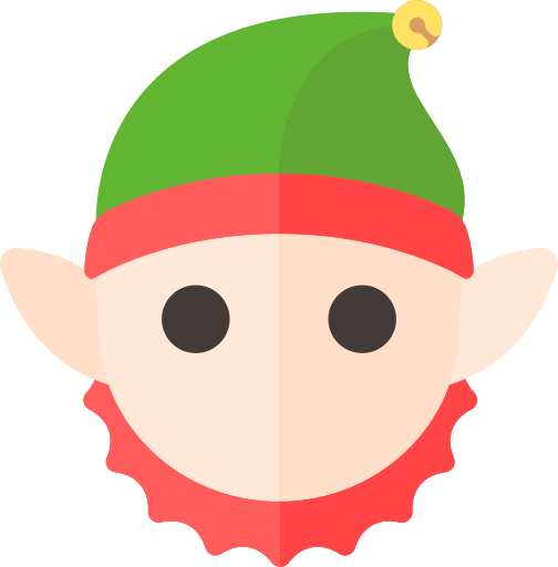 Elf png holiday. Christmas icon gnome merry