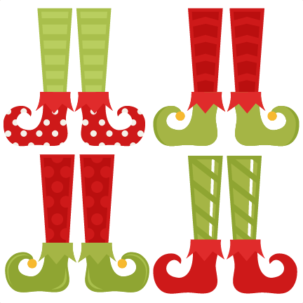Elf shoe clipart png. Set svg cutting files