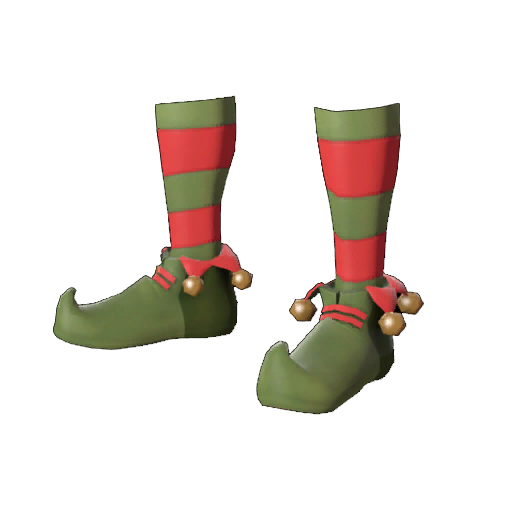 Elf shoes png. Bootie time item tf