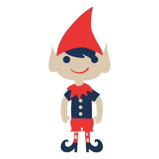 Elf transparent svg. Flat icon png vector
