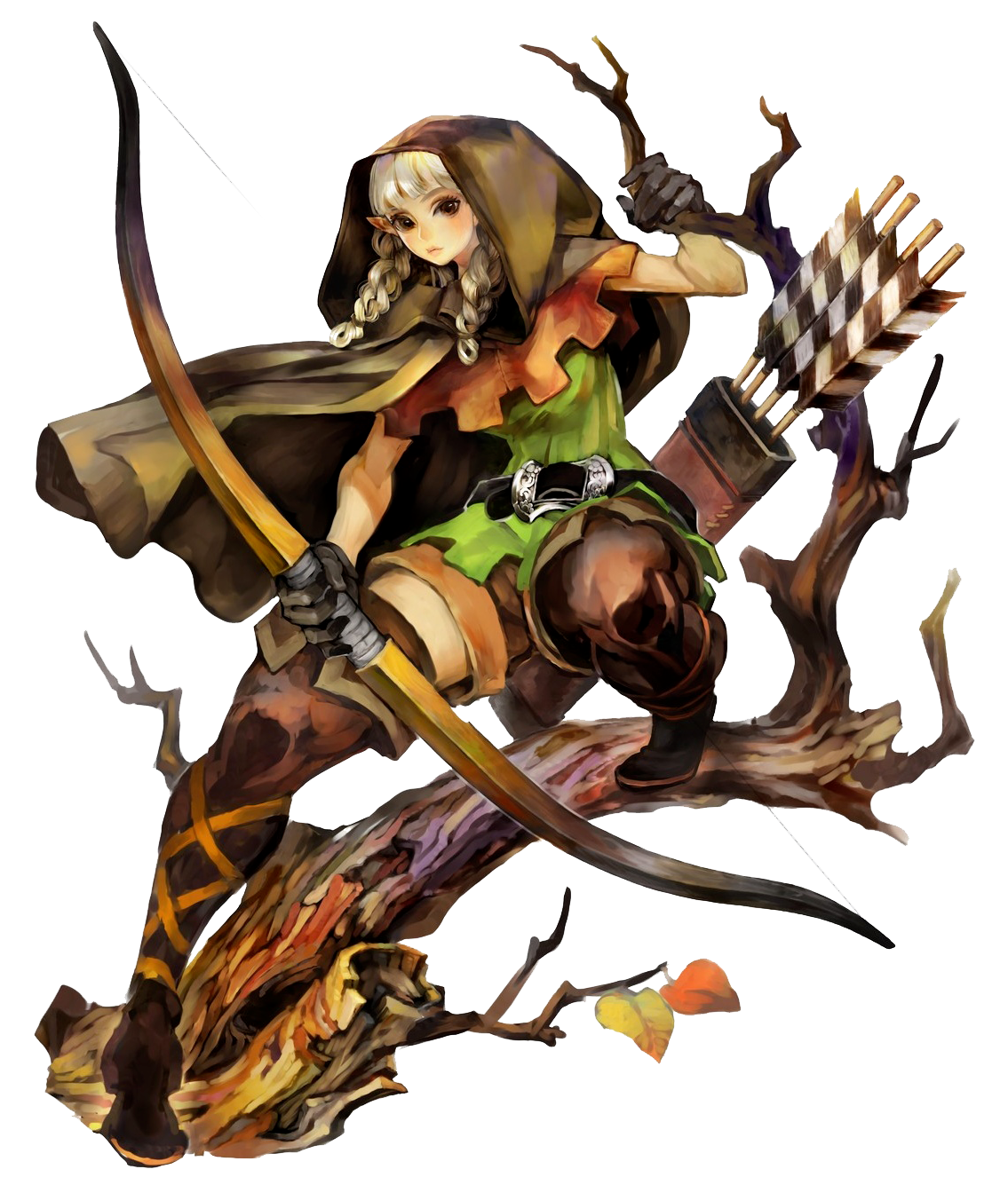 Elf transparent forest. Dragon s crown wiki