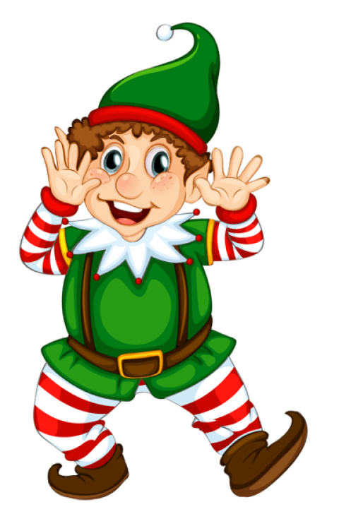 Elf png holiday. Transparent christmas free images