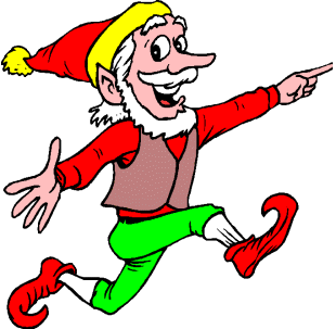 Elf clipart dancing. Free christmas elves animations