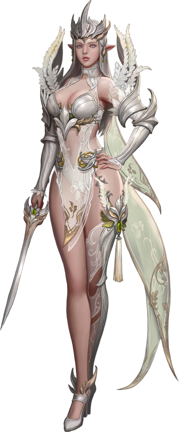 elf transparent female