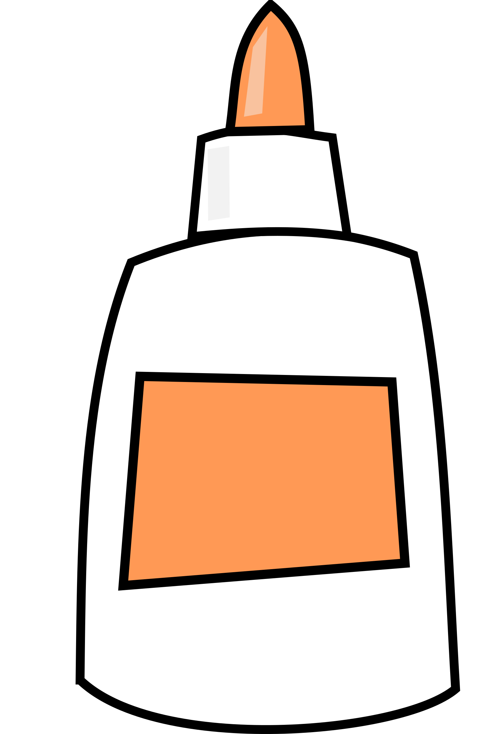 Elmers glue stick png. By lmproulx on openclipart