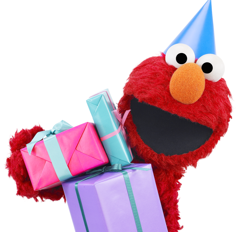 Elmo birthday png. S celebration at learning