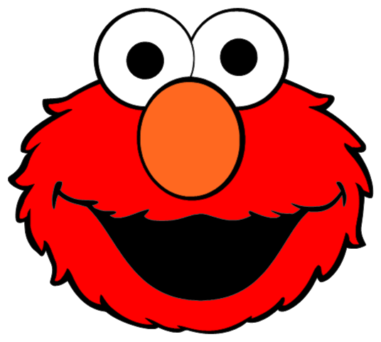 mouth clipart elmo