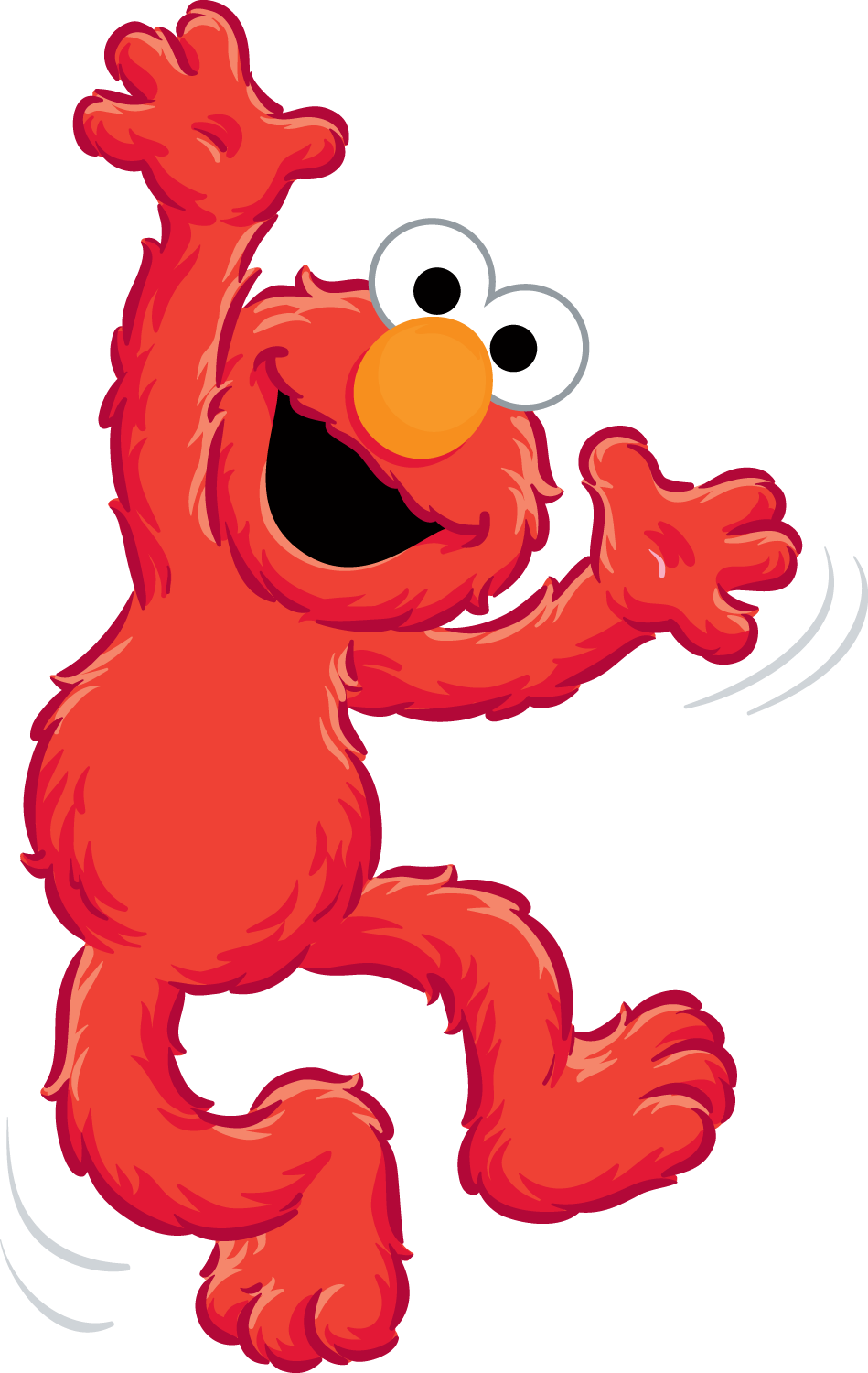 elmo clipart eye