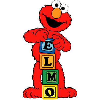 Pin blonyale bebe walker. Elmo clipart png freeuse download