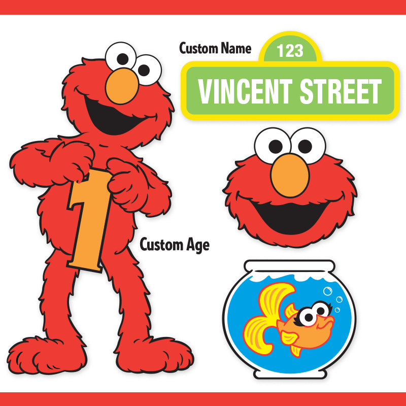Cilpart bright design boys. Elmo clipart birthday boy svg library stock
