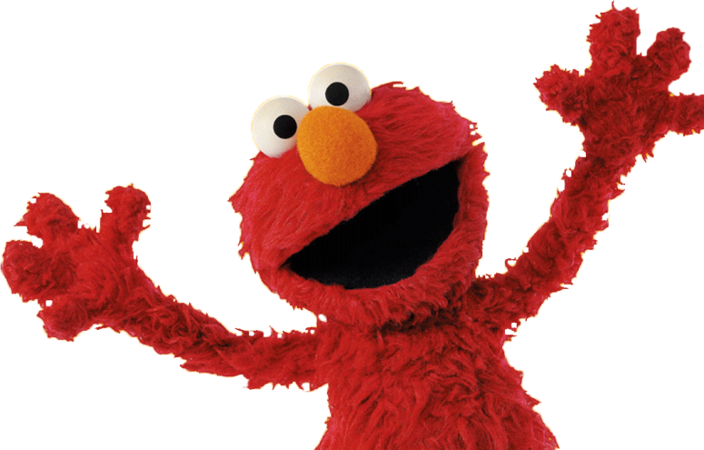 Elmo png. Is a corn eating