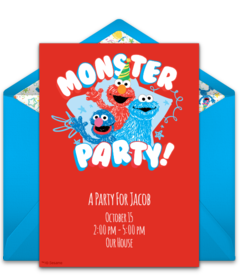 Elmo Pool Party Png Online Invitations From