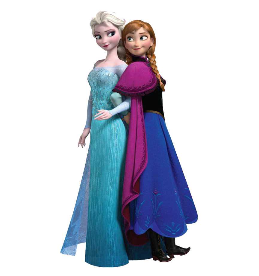 Elsa and anna png. Transparent images pluspng y