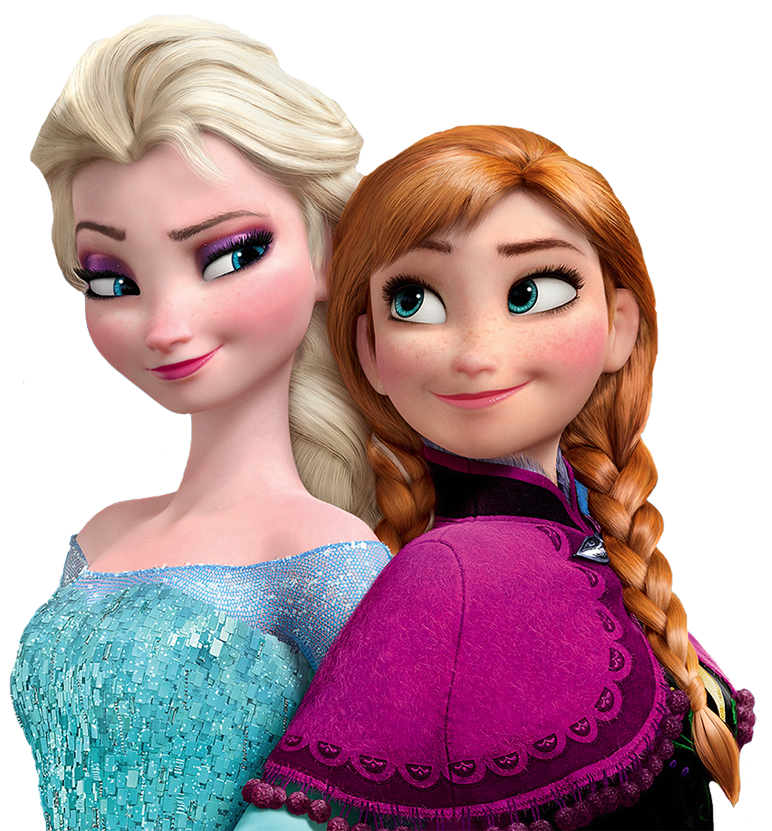 Elsa and anna png. Frozen movie filme olaf