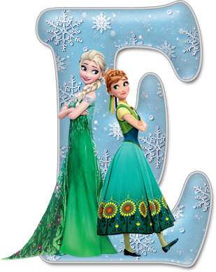 Elsa candy apples png. Alfabeto de frozen fever