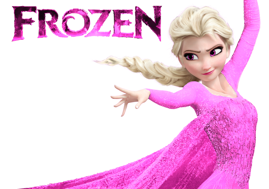 Elsa candy apples png. Queen pink dress by