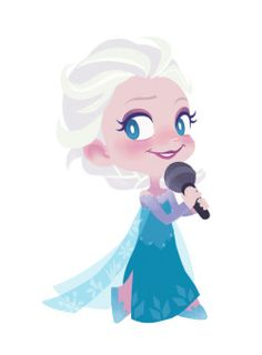 Elsa clipart animated. Frozen minus cartoon charaters
