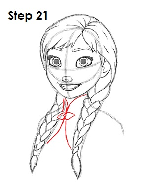 Elsa clipart anna sketch. How to draw frozen