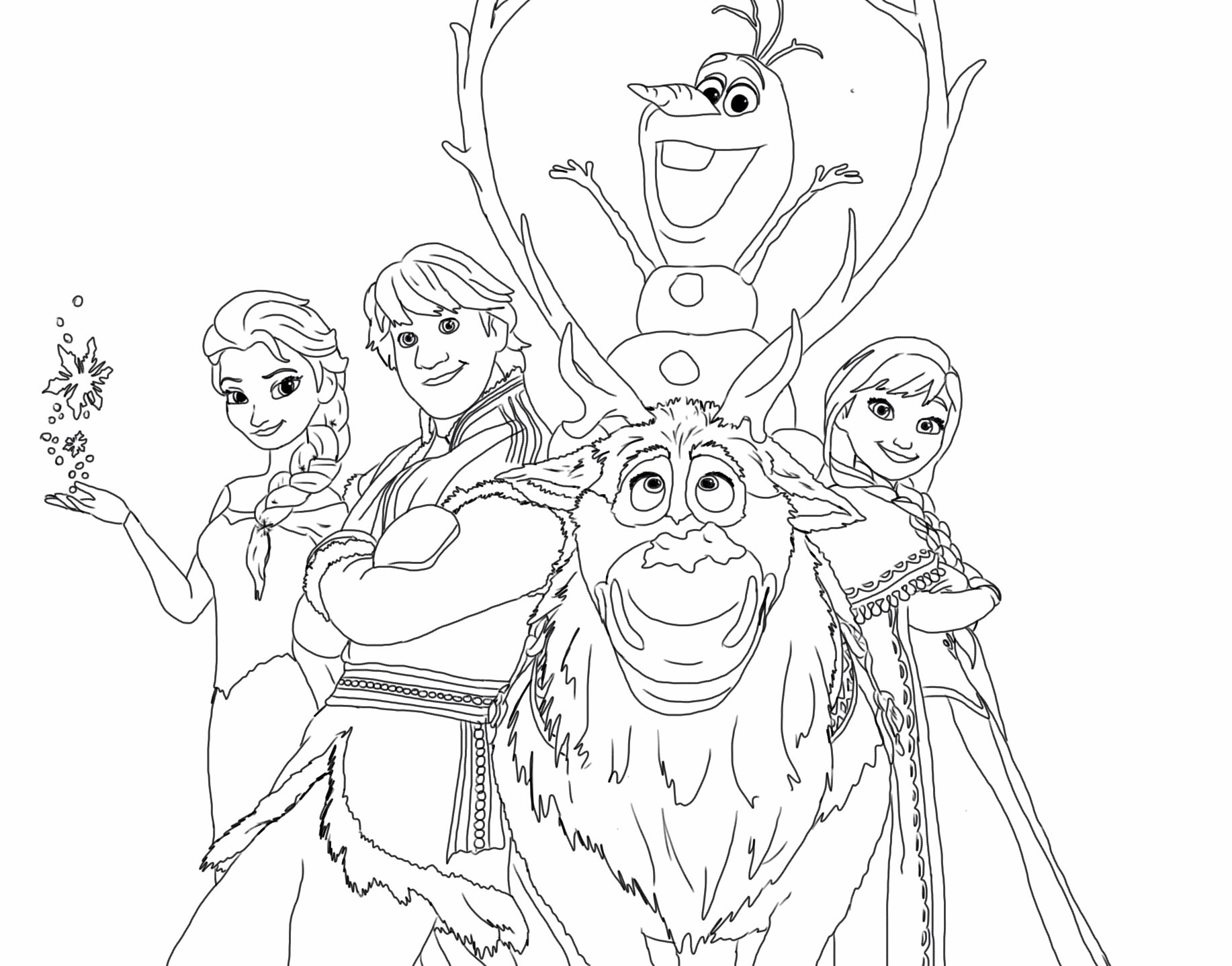 Elsa clipart anna sketch. Frozen drawing and at