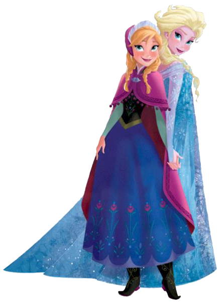 Elsa clipart anna template. And