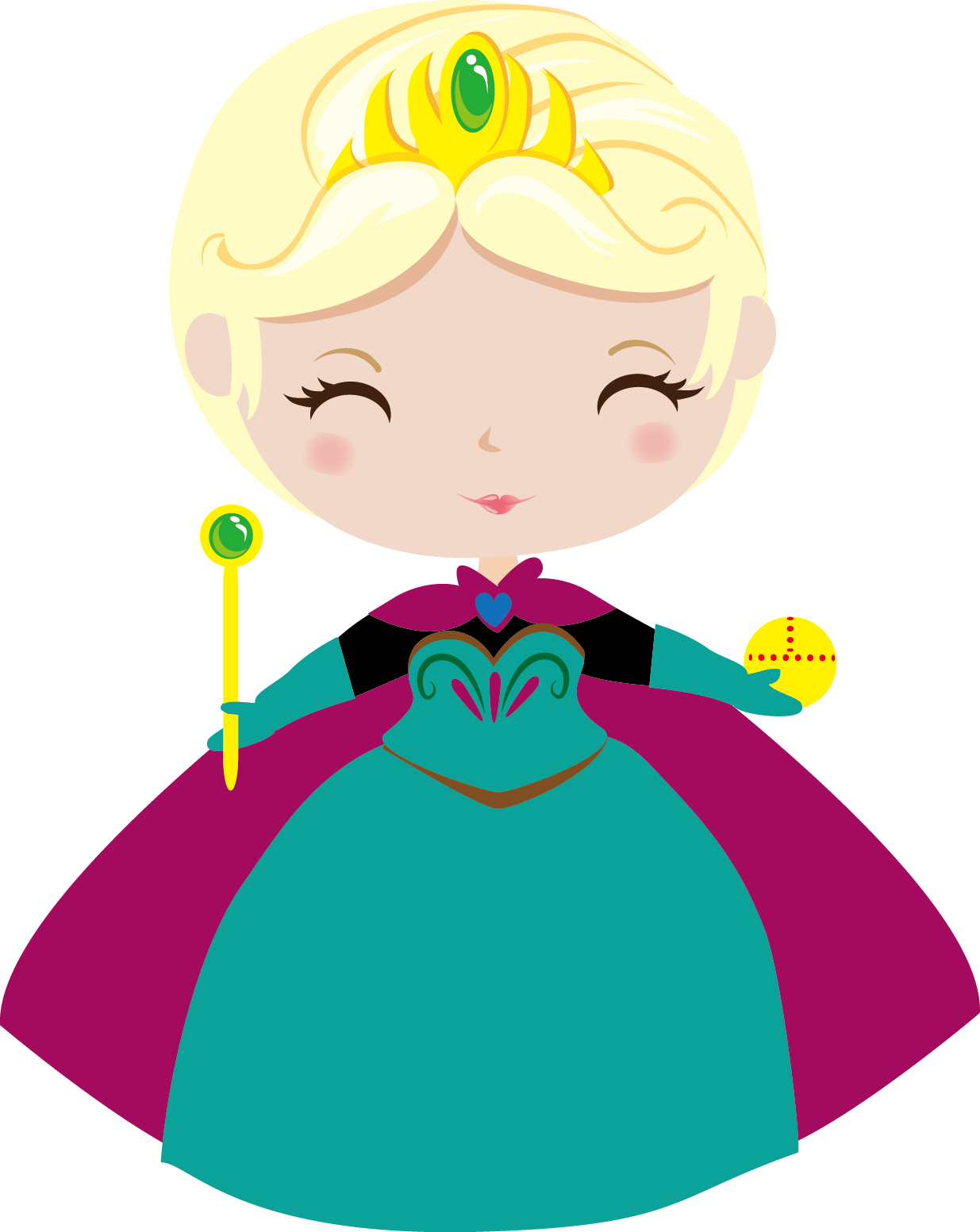 Preparativos para o anivers. Elsa clipart birthday decoration png library library
