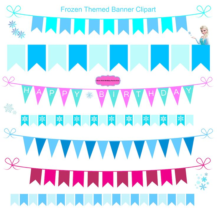 Elsa clipart birthday decoration. Best kids party