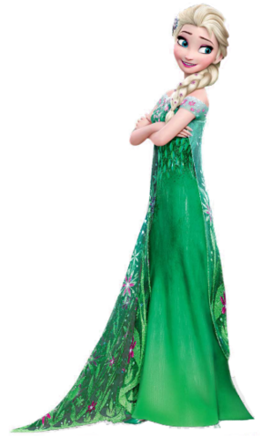 Elsa costume png. File frozen fever render