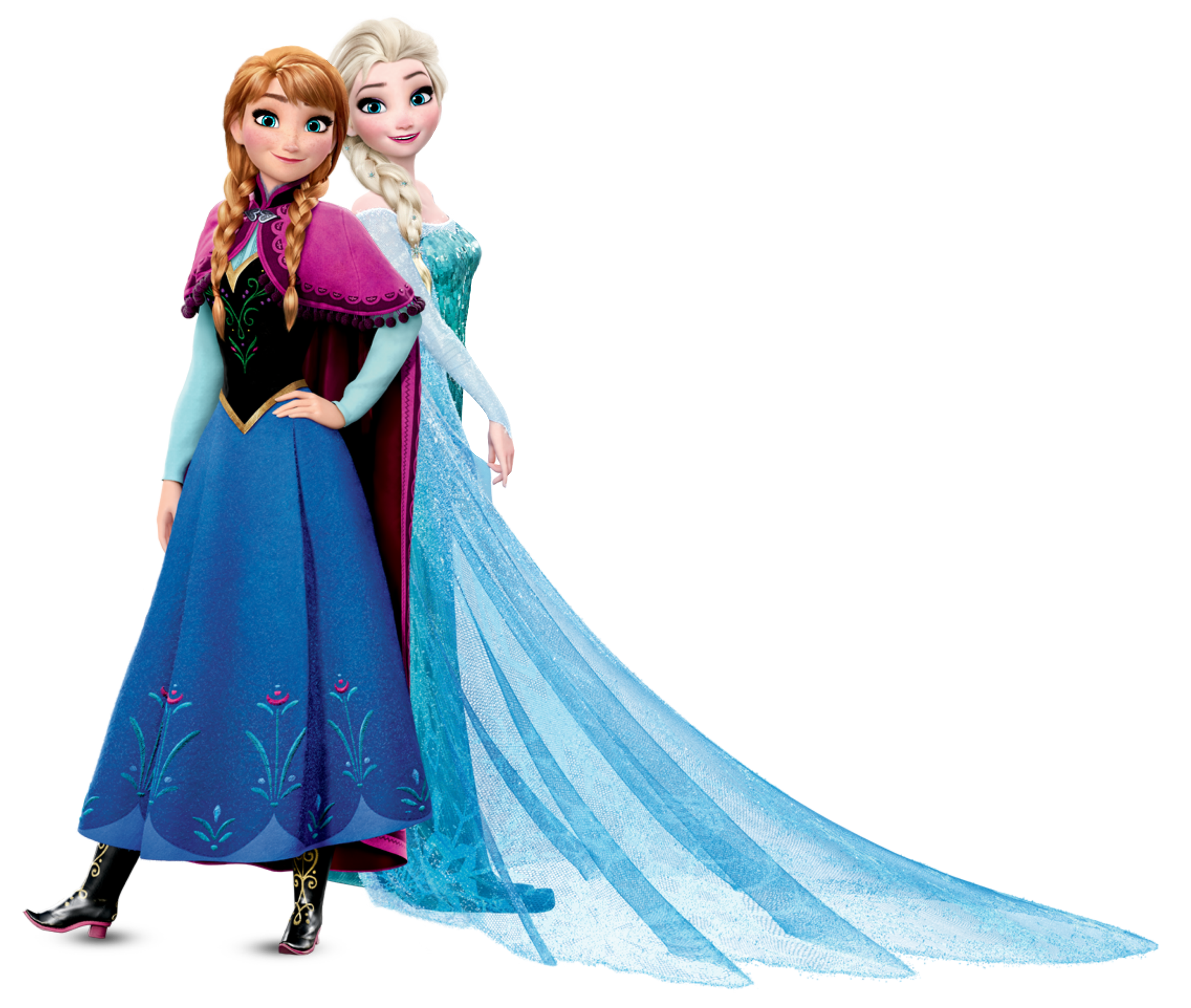 Frozen background png. Anna and elsa transparent