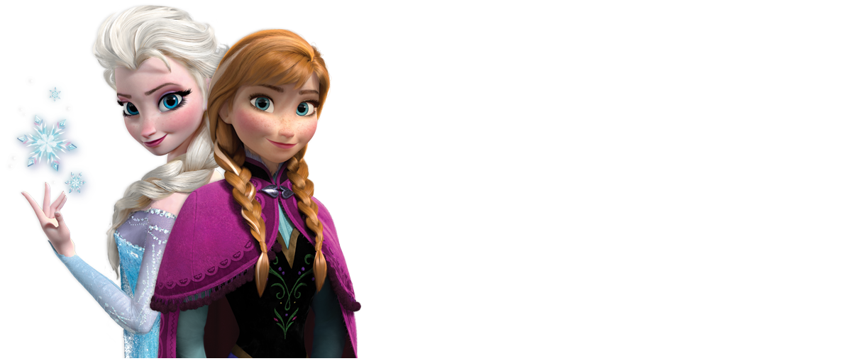 Frozen elsa y anna png. And with longer background