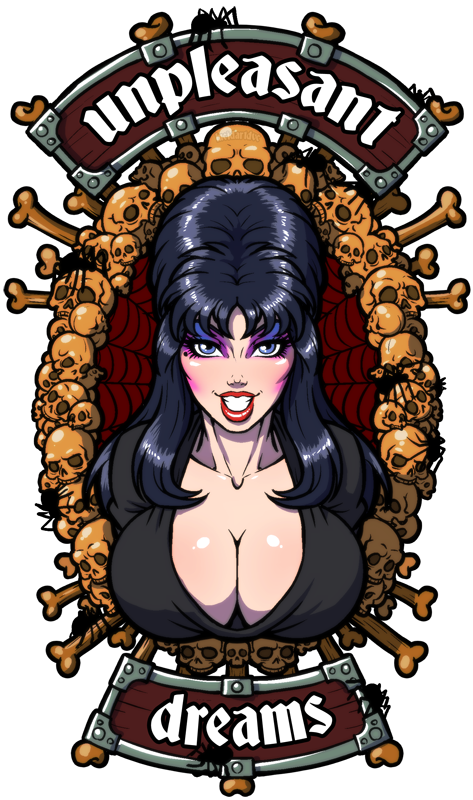 Elvira drawing. My name s but