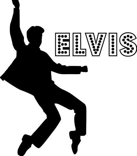 Elvis clipart tattoo. Image result for silhouette