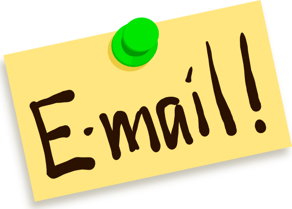 Email clipart email address. New club rotary of