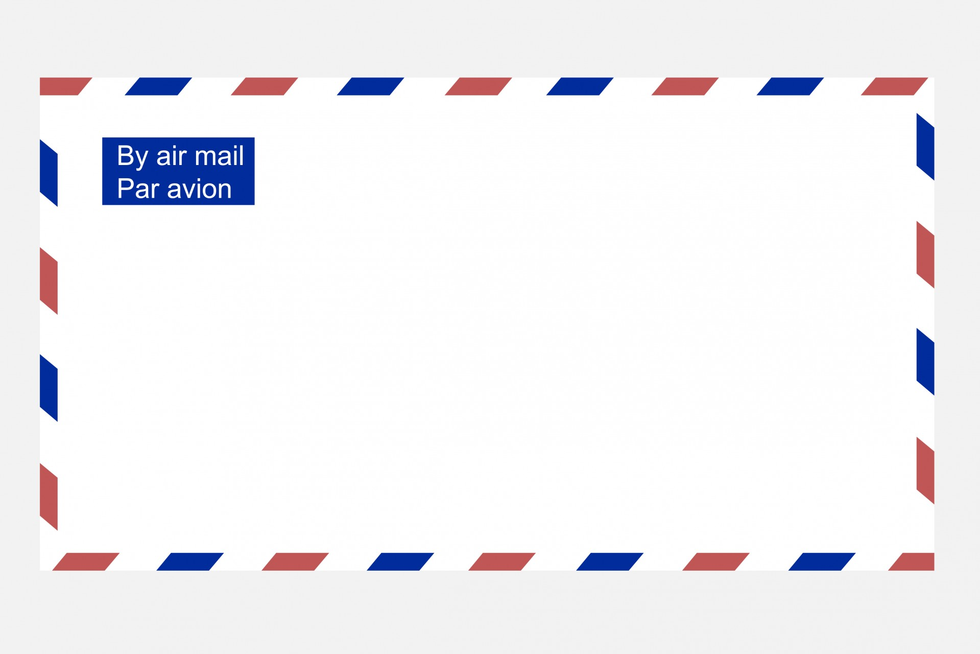 Envelope clipart par avion. Airmail free stock photo