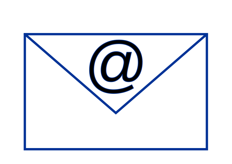 Email clipart mailclip. Free download