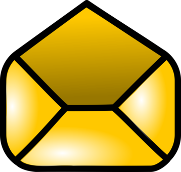 Email clipart yellow envelope. Download computer icons letter