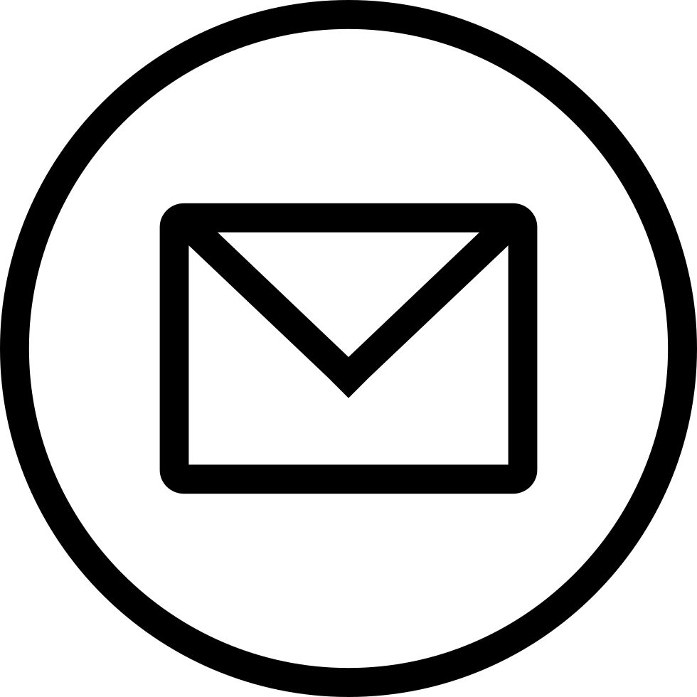 Email icon png circle. With svg free download