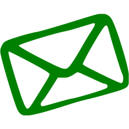 Email icon png green. Free icons