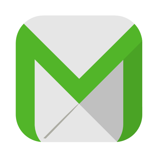 Email icon png green. Squareplex by cornmanthe rd